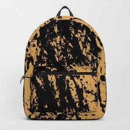 Brown Splatter Backpack