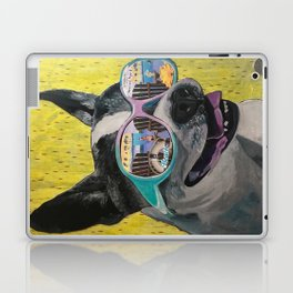 Frosty Face Friday with Gracie Gabriella at the Beach Laptop & iPad Skin