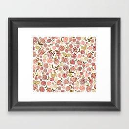 Fruity Ditsy Framed Art Print