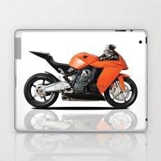 KTM RC8 motorbike Laptop & iPad Skin