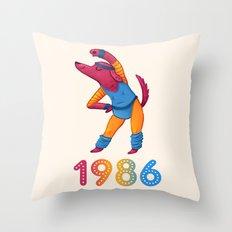 1986 Throw Pillow