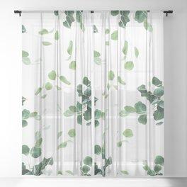 Botanical Celebration #society6 #decor #buyart Sheer Curtain