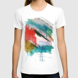 Happiness - a bright abstract piece T-shirt