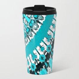 Aquamarine Rays Travel Mug