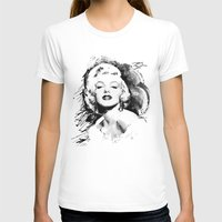 monroe T-shirts featuring Monroe by Ron Jones The Artist