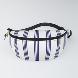 Blue- White- Stripe - Stripes - Marine - Maritime - Navy - Sea - Beach - Summer - Sailor Fanny Pack