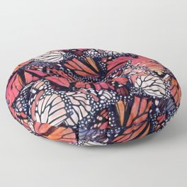 Monarch Butterflies II Floor Pillow