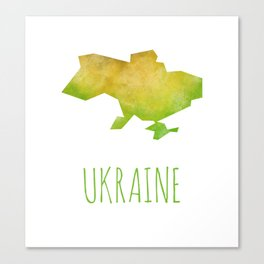 Ukraine Canvas Print