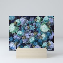 """Baroque floral with bugs"" Mini Art Print"