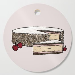 Z is for Zuger Kirschtorte Cutting Board