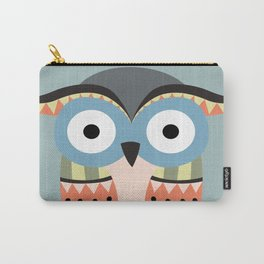 tribal owl Carry-All Pouch