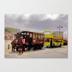 Vintage or Modern Canvas Print