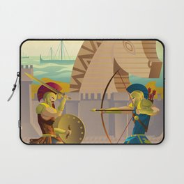 trojan war and troy horse Laptop Sleeve