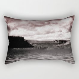 Portencross Jetty Rectangular Pillow
