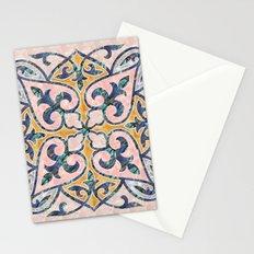 Blue Oriental Tile 01 Stationery Cards