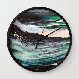 Palette_5 Wall Clock