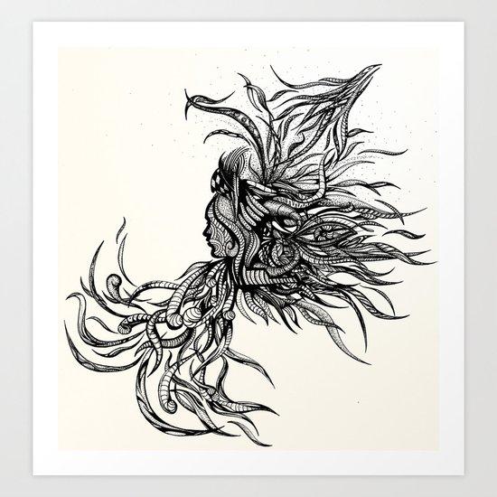 Untethered  Art Print