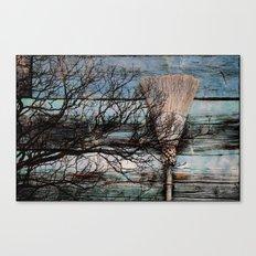 Cinnamon Broom  Canvas Print