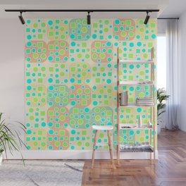 Fresh geometric pattern Wall Mural