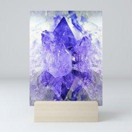 Amethyst Crystal Fantasy Mini Art Print