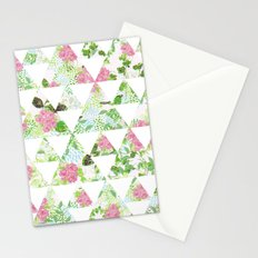 Vintage Rose Bird Stationery Cards