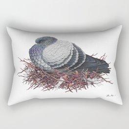 Rock Pigeon Rectangular Pillow