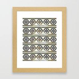 Moroccan Motifs Framed Art Print