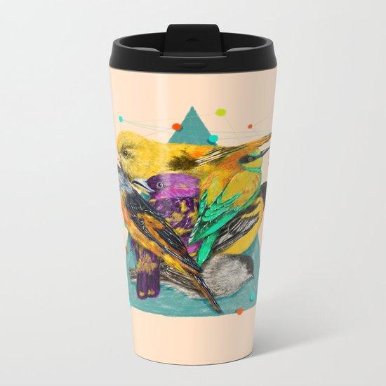 Colour Party Metal Travel Mug