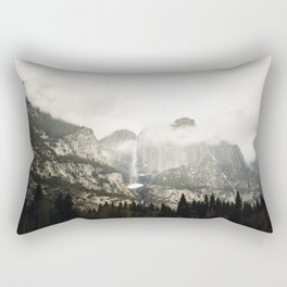 Yosemite in March Rectangular Pillow