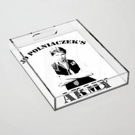 Jo Polniaczek's Army Acrylic Tray