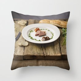 Pate Anyone? Throw Pillow