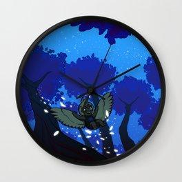 Harp's Twilight Flight Wall Clock