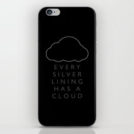 Silver Linings iPhone Skin