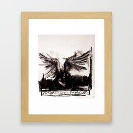 Angels Never Know Framed Art Print