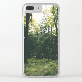 Forest XIX Clear iPhone Case