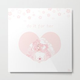 Queen of Hearts (Do It For Her) Metal Print