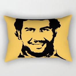 Pablo Escobar Rectangular Pillow