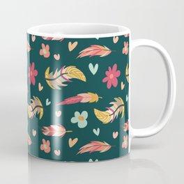 FEATHERS AND FLOWERS Coffee Mug