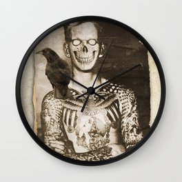 nice temporary insanity Wall Clock