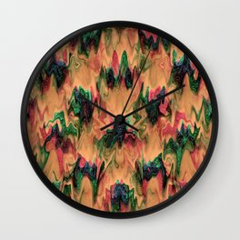 Under the waves.... Wall Clock
