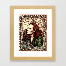 Norse Loki Framed Art Print