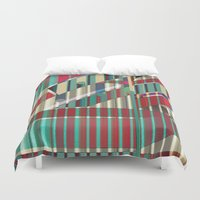 industrial Duvet Covers featuring Industrial Delusions by Fernando Vieira