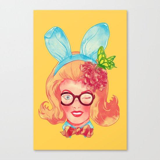 Lapin Belle Canvas Print
