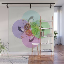 Willie Wagtail Wall Mural