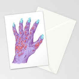 Cloud Nails Stationery Cards