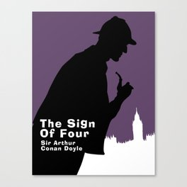 The Sign of Four -Sherlock Holmes Canvas Print