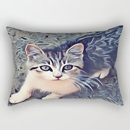 My Favorite Stray Cat Rectangular Pillow