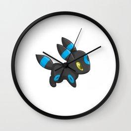 Shiny Umbreon Wall Clock