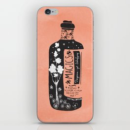 Magics... -orange- iPhone Skin