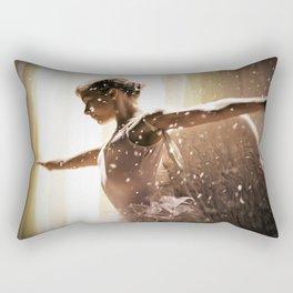 Angel Ballerina Rectangular Pillow